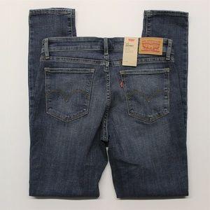 Levi's 711 Skinny Fit Blue Jeans (188810209) 8M